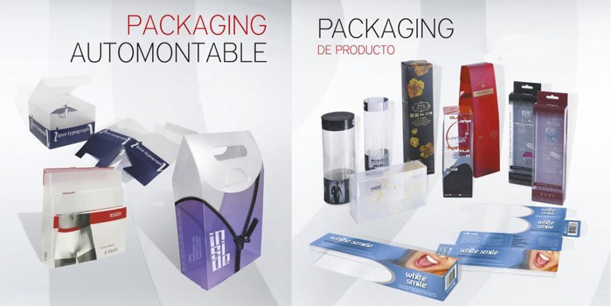 Diseño de packaging UV, envases, etiquetas.